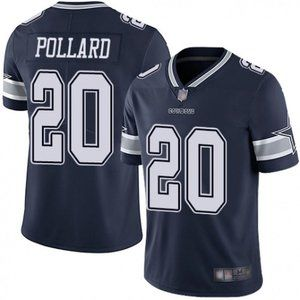 Cowboys Tony Pollard Navy Jersey
